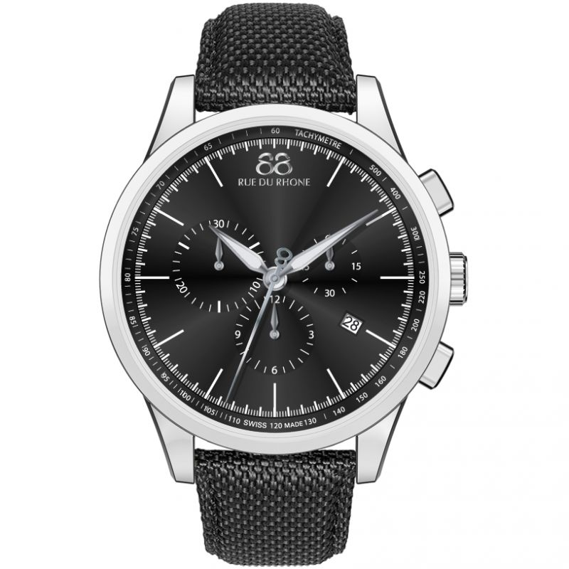 Mens 88 Rue Du Rhone Rive Exclusive Chronograph Watch