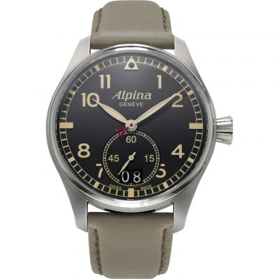 Mens Alpina Startimer Pilot Watch AL-280BGR4S6