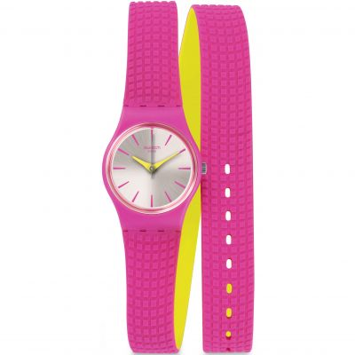 Swatch Originals Lady Ficcorossa Damenuhr in Pink LP143