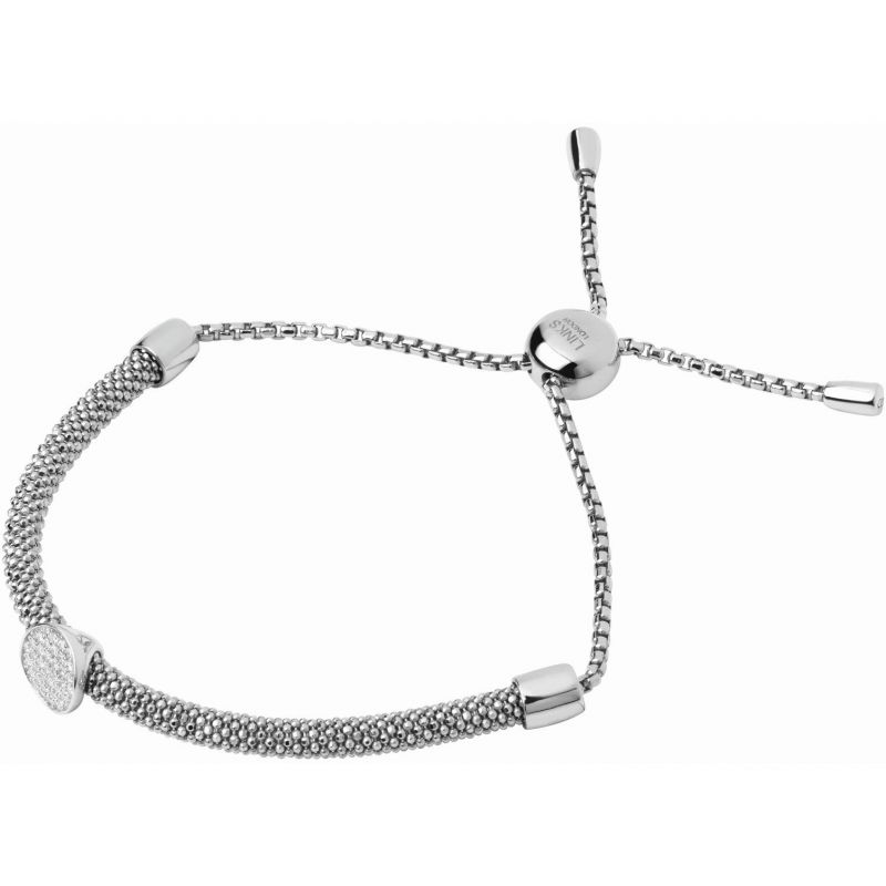 Ladies Links Of London Sterling Silver Starlight Bead Toggle Bracelet 5010.3423