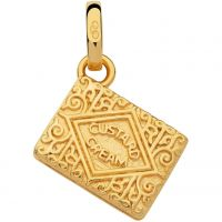 Ladies Links Of London Sterling Silver British Tea Keepsakes Custard Cream Charm 5030.2537