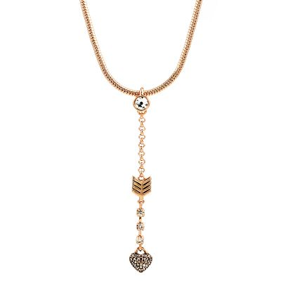 Bijoux Femme Juicy Couture Heart Arrow Luxe Wishes Collier WJW62486-690