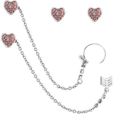 Bijoux Femme Juicy Couture Heart Arrow Luxe Wishes Boucles d'oreilles WJW62495-040