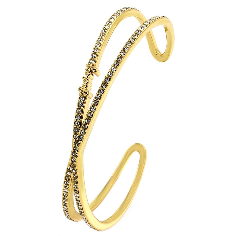 Ladies Juicy Couture Gold Plated Pave Infinity Luxe Wishes Bracelet WJW62528-712