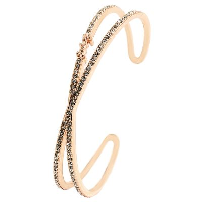 Ladies Juicy Couture Base metal Pave Infinity Luxe Wishes Bracelet WJW62528-690