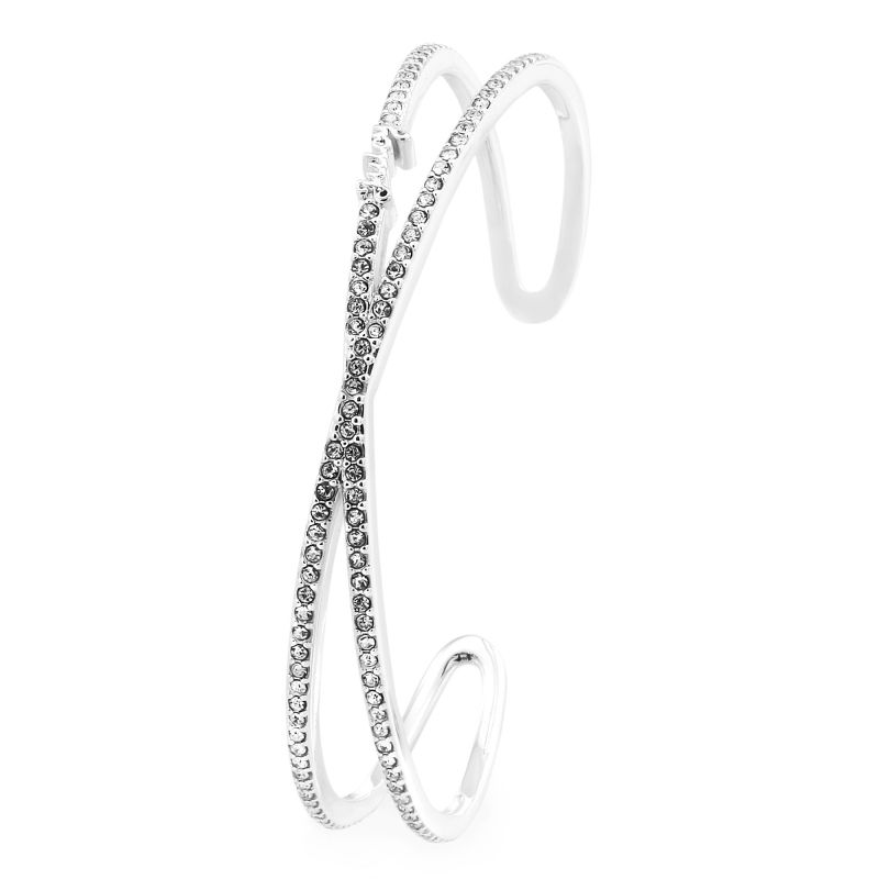 Ladies Juicy Couture Base metal Pave Infinity Luxe Wishes Bracelet WJW62528-040