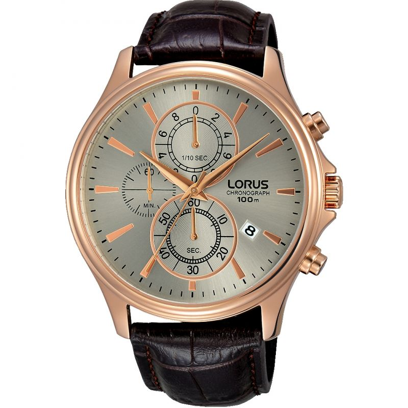 Mens Lorus Chronograph Watch RM318DX9