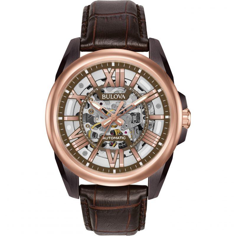 Mens Bulova Automatic Automatic Watch