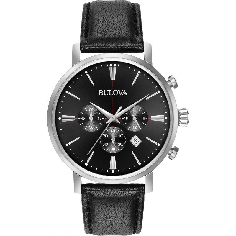 Mens Bulova Aerojet Chronograph Watch