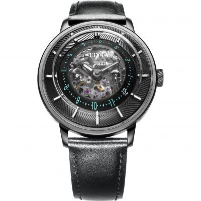 Mens FIYTA 3D Time Skeleton Automatic Watch WGA868003.BBB