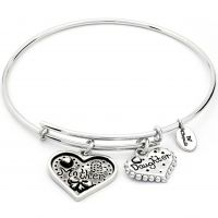 Chrysalis Thinking Of You Mother Daughter Expandable Bangle JEWEL