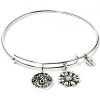 Ladies Chrysalis Silver Plated Friend & Family Daughter Expandable Bangle CRBT0702SP