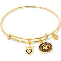 Ladies Chrysalis Gold Plated Friend & Family Friendship Expandable Bangle CRBT0704GP