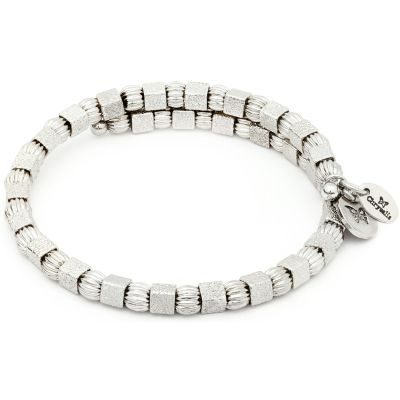 Ladies Chrysalis Silver Plated Gaia Moon Wrap Bangle CRBW0001SP