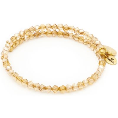 Ladies Chrysalis Gold Plated Gaia Twilight Wrap Bangle CRBW0014GPLTCO