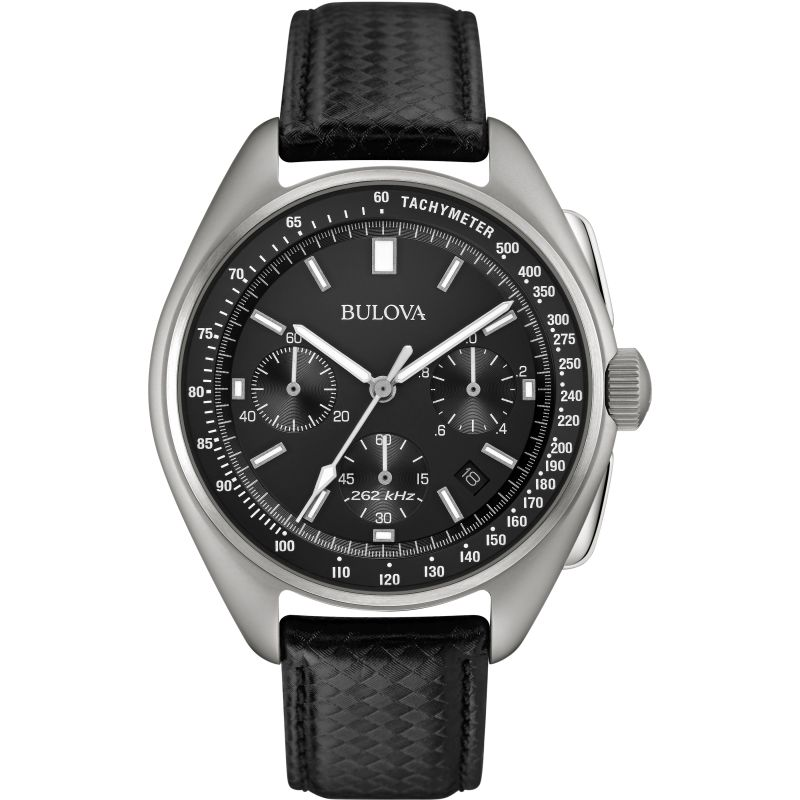Mens Bulova Special Edition Lunar Pilot Chronograph Watch