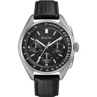 Mens Bulova Special Edition Lunar Pilot Chronograph Watch