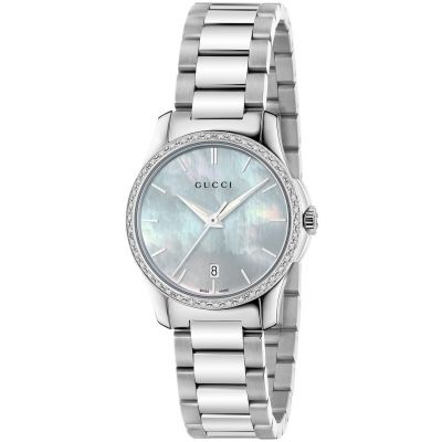 Ladies Gucci G-Timeless Watch YA126543