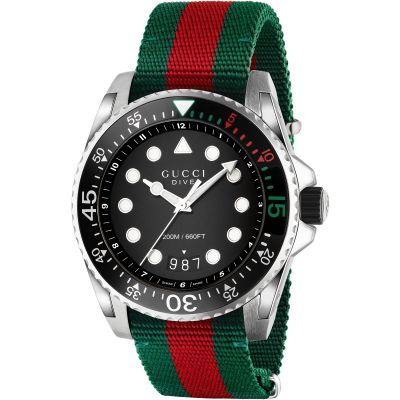 Mens Gucci Gucci Dive Watch YA136209