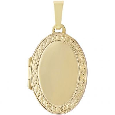 Jewellery Locket 9K Goud