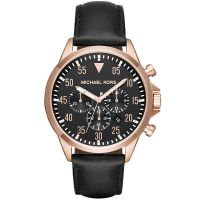 Mens Michael Kors Gage Chronograph Watch MK8535