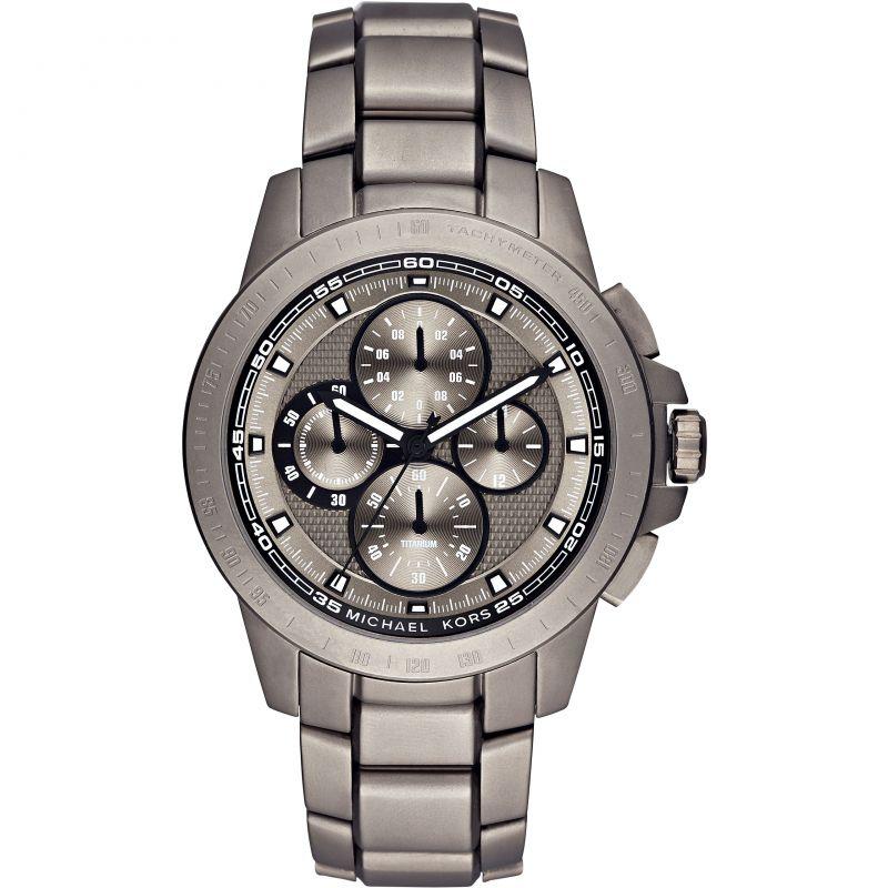 Mens Michael Kors Titanium Titanium Chronograph Watch