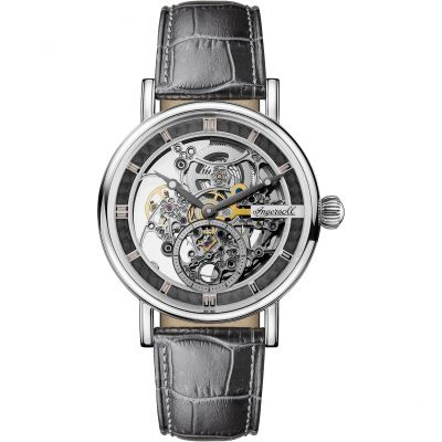 Ingersoll 1892 The Herald Herrenuhr in Schwarz I00402