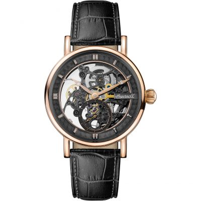 Ingersoll 1892 The Herald Herrenuhr in Schwarz I00403