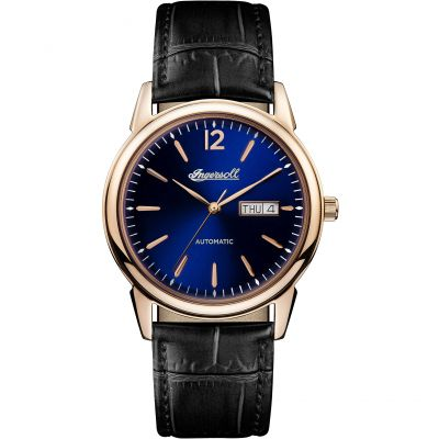 Ingersoll 1892 The New Haven Herrenuhr in Schwarz I00504