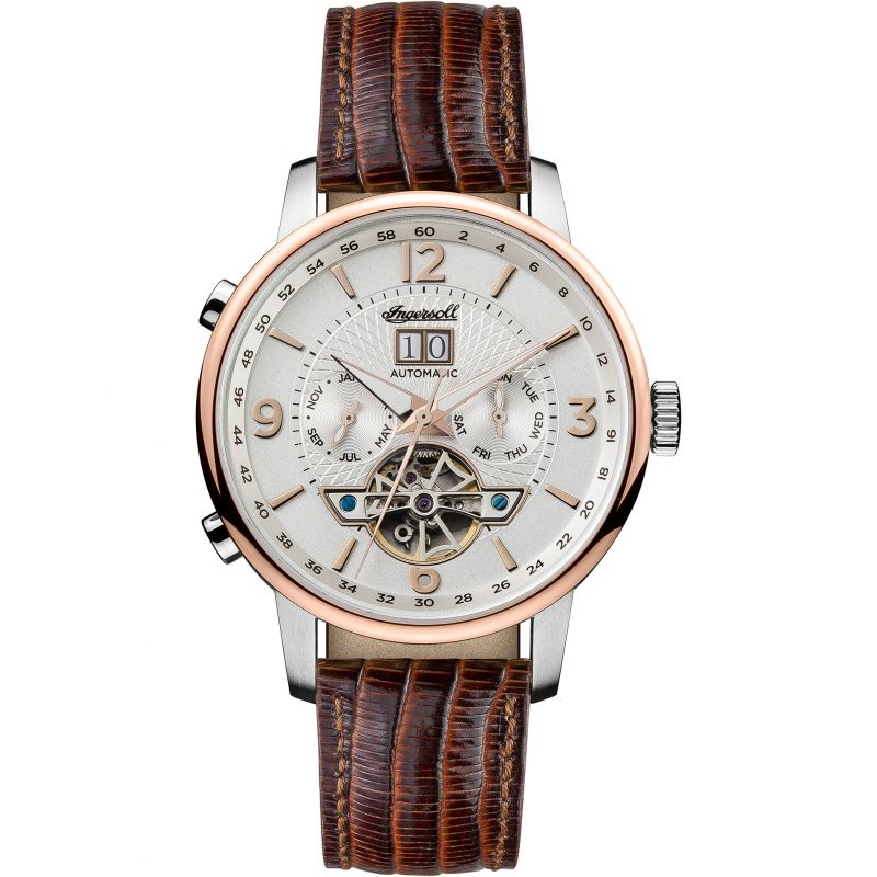 Mens Ingersoll The Grafton Multifunction Automatic Watch I00701