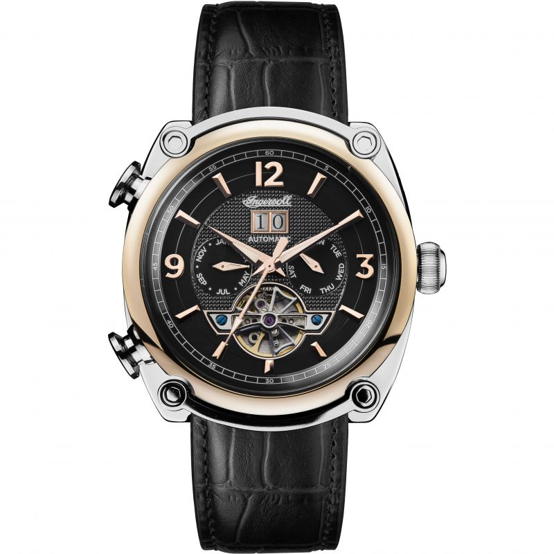 Mens Ingersoll The Michigan Multifunction Automatic Watch I01102