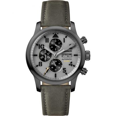 Ingersoll Discovery The Hatton Multifunction Herrenuhr in Grau I01401