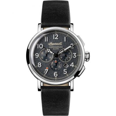 Ingersoll Discovery The St Johns Herrenchronograph in Schwarz I01701