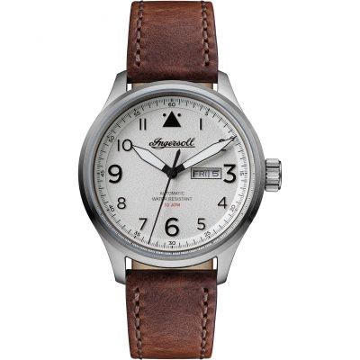 Ingersoll Discovery The Bateman Herrenuhr in Braun I01801