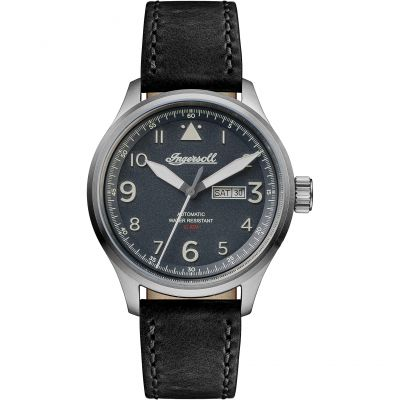 Ingersoll Discovery The Bateman Herrenuhr in Schwarz I01802