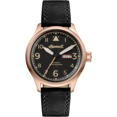 Ingersoll Discovery The Bateman Herrenuhr in Schwarz I01803