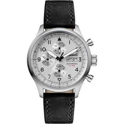 Ingersoll Discovery The Bateman Multifunction Herrenuhr in Schwarz I01901