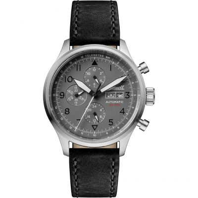 Ingersoll Discovery The Bateman Multifunction Herrenuhr in Schwarz I01903