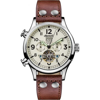 Mens Ingersoll The Armstrong Multifunction Automatic Watch I02101
