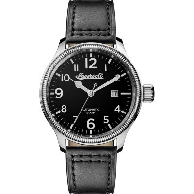 Ingersoll Discovery The Apsley Herrenuhr in Schwarz I02701