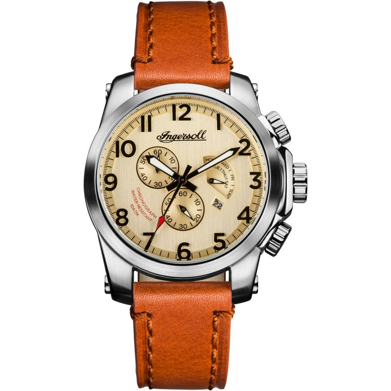 Mens Ingersoll The Manning Chronograph Watch I03001
