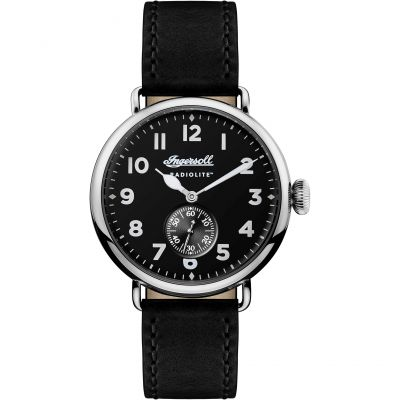 Ingersoll Chronicle Radiolite The Trenton Radiolite Herrenuhr in Schwarz I03201