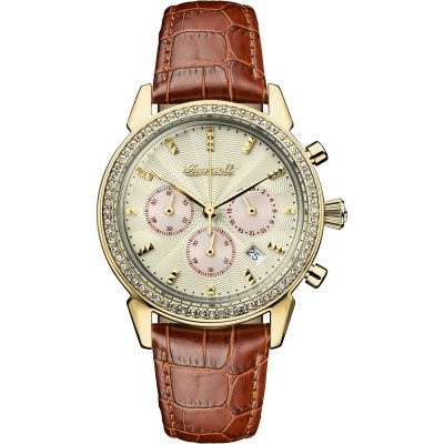 Ladies Ingersoll The Gem Chronograph Watch I03902