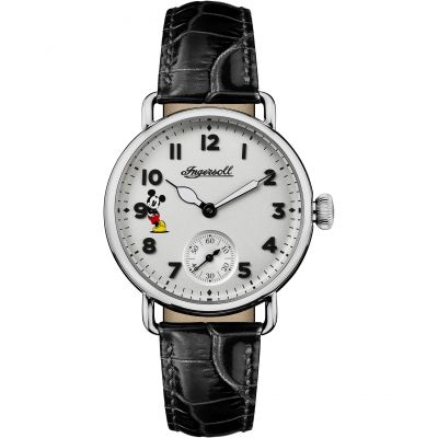 Ingersoll Union The Trenton Disney Limited Edition Damenuhr in Schwarz ID00101