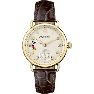 Ingersoll The Trenton Disney Limited Edition Damklocka Brun ID00102