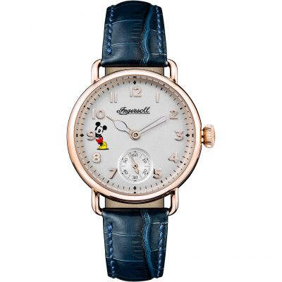 Ingersoll Union The Trenton Disney Limited Edition Damenuhr in Blau ID00103