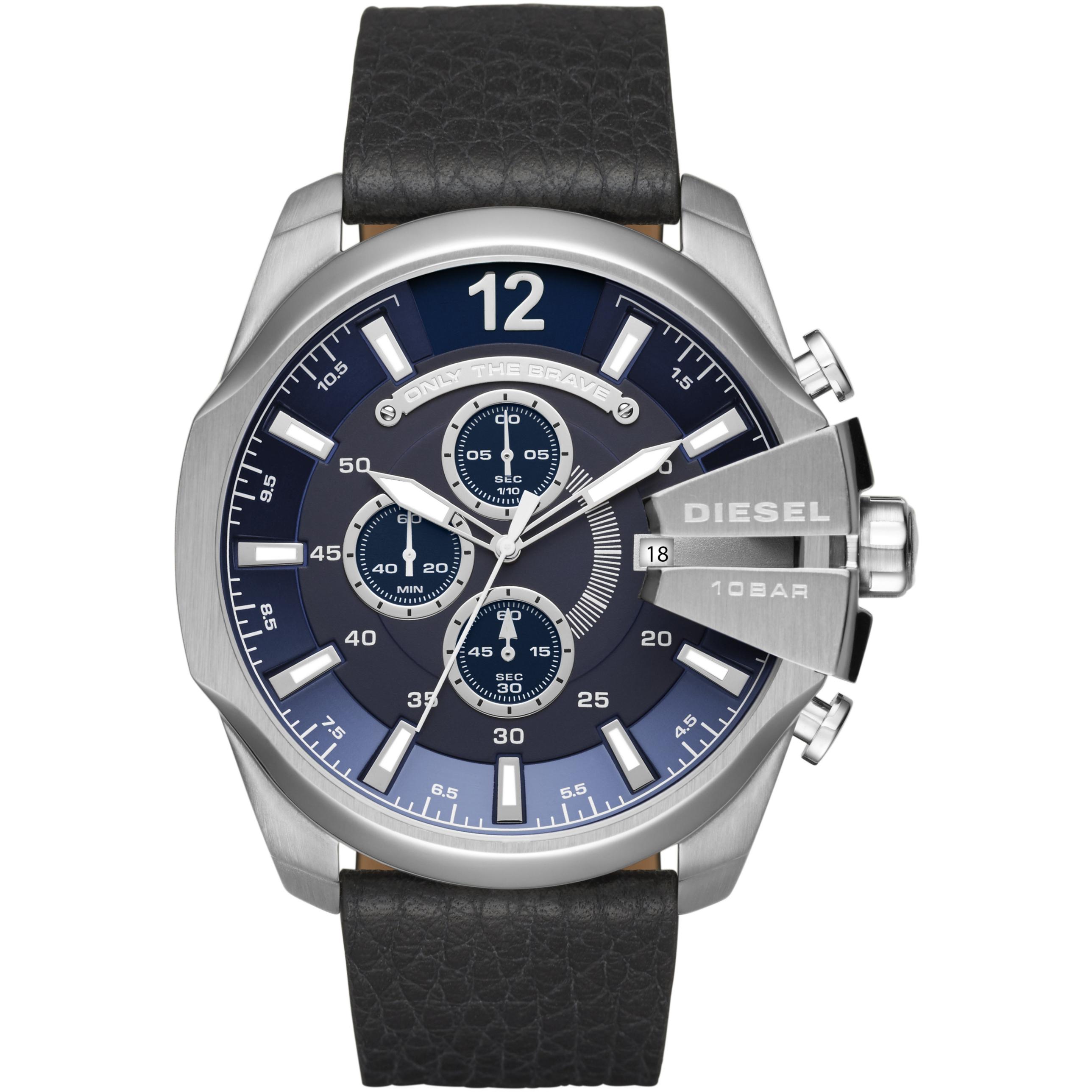 2e0f3b730cd Gents Diesel Mega Chief Chronograph Watch (DZ4423)