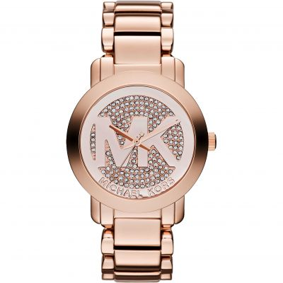 Michael Kors Runway Damenuhr in Rosa MK3394