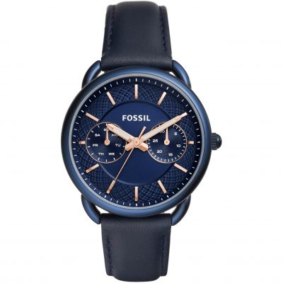 Fossil Tailor Damenuhr in Blau ES4092