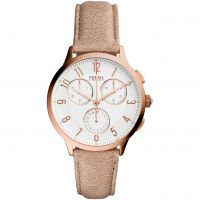 Ladies Fossil Abeline Chronograph Watch CH3016